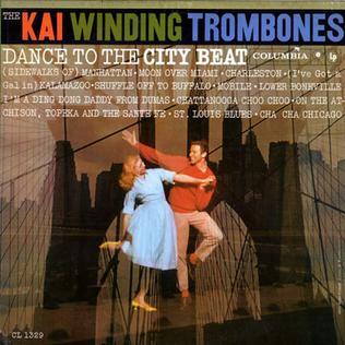 <i>Dance to the City Beat</i> 1959 studio album by The Kai Winding Trombones