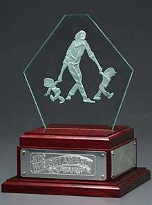 Doug Wright Award trophy
