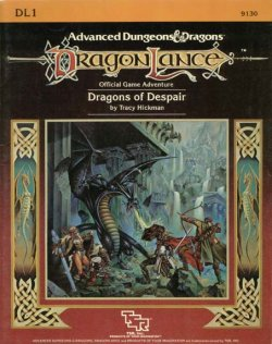 <i>Dragons of Despair</i> book by Tracy Hickman