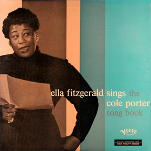 Image result for ella fitzgerald sings cole porter  vinyl art
