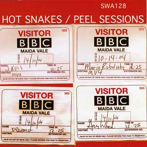 <i>Peel Sessions</i> (Hot Snakes EP) 2005 EP by Hot Snakes