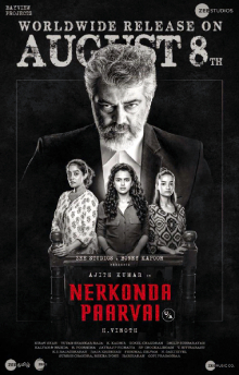 Nerkonda Paarvai 2019 480p WEB-DL Hindi Dubbed 500MB