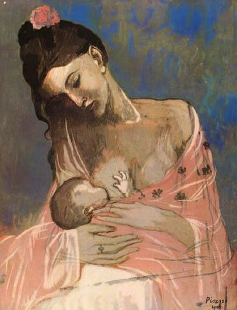 File:Pablo Picasso, 1905, Maternité (Mother and Child).jpg - Wikipedia