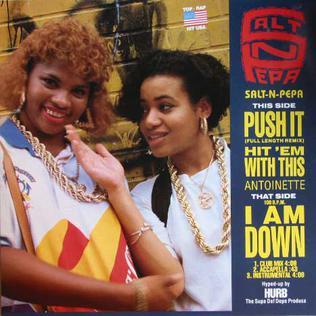 Push It (Salt-n-Pepa song) 1987 song by Salt-n-Pepa
