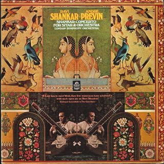 <i>Concerto for Sitar & Orchestra</i> 1971 studio album by Ravi Shankar with the London Symphony Orchestra conducted by André Previn
