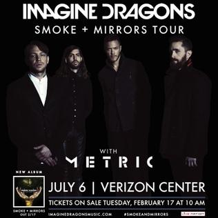 Imagine Dragons Tour Phoenix
