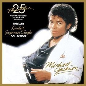 <i>Thriller 25: Limited Japanese Single Collection</i> 2008 box set by Michael Jackson