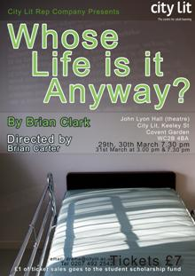 <i>Whose Life Is It Anyway?</i> (play)