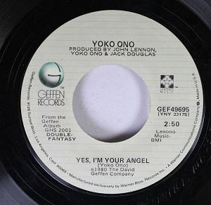 Yes, Im Your Angel Yoko Ono song