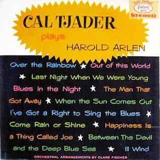 <i>Cal Tjader Plays Harold Arlen</i> 1962 studio album by Cal Tjader