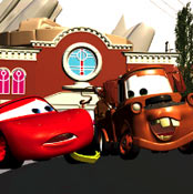 Like all Pixar productions, the animation is computer generated. This is a work-in-progress screenshot.