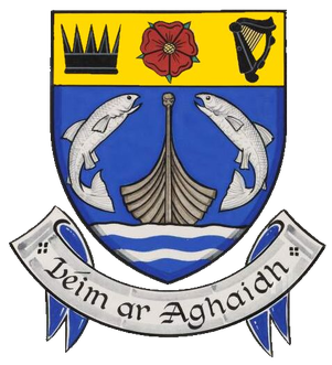 Coat of arms of Leixlip