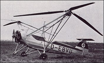 "Focke-Wulf Fw 61, the first practical helicopter<br /><i>Source:</i> <a href=""https://en.wikipedia.org/w/index.php?curid=12642181"" rel=""external"">Wikipedia</a> Focke-Wulf_Fw_61.jpg"
