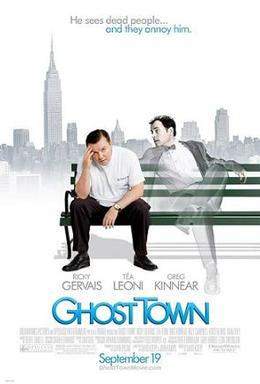 Ghost Town (2008) Worldfree4u - 800MB 720P BRRip Dual Audio [Hindi-English] Khatrimaza