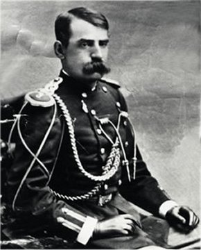 John G. Bourke and his truly heroic mustache.