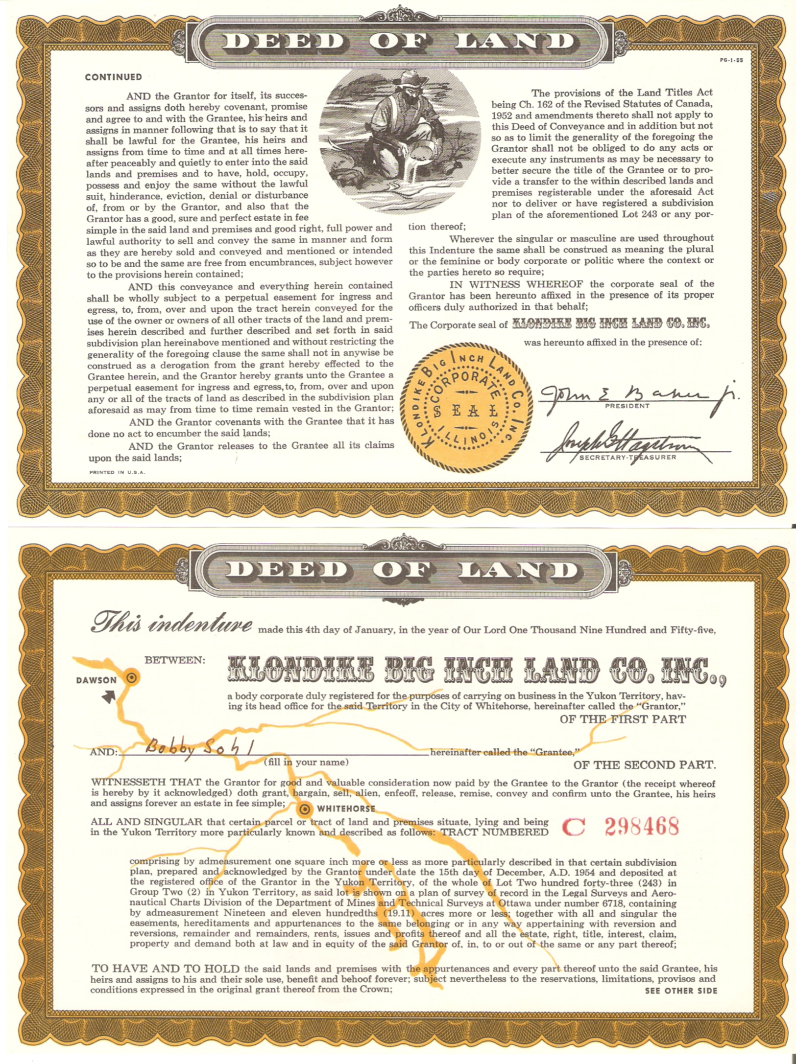 file klondike big inch land promotion certificate jpg wikipedia