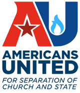 Logo of Americans United For Separation of Church and State, updated in 2014.png