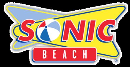 New Sonics Logo Sonic Beach Logo