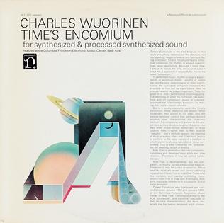 <i>Times Encomium</i> 1969 studio album by Charles Wuorinen