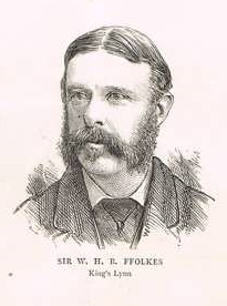 Sir William ffolkes, 3rd Baronet British politician