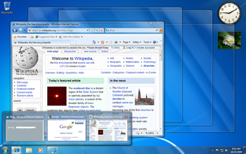 The Windows 7 taskbar shows a preview of the w...