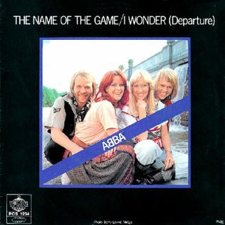 Imagem da capa da música The Name of the Game de ABBA