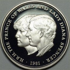 Charles and Diana's wedding commemorated on a ...