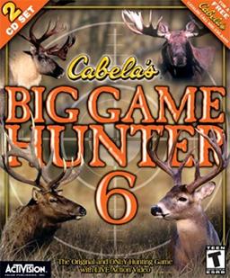 Cabela's Big Game Hunter 6