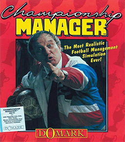 The first ever Championship Manager game released in 1992.