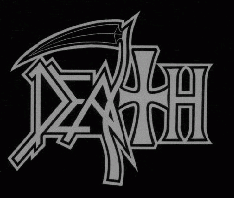 The original Death logo was created by Chuck Schuldiner. This is the last logo used by the band found on the cover for their album The Sound of Perseverance. Death band.png