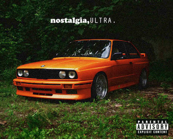Frank Ocean Nostalgia Ultra on 1990 Acura Integra