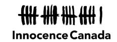 Innocence Canada organization