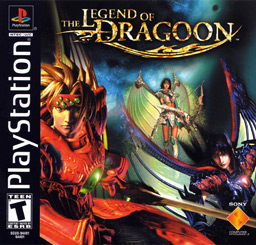 Portada de Legend of Dragoon