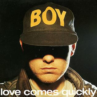 Love Comes Quickly Second single released by the Pet Shop Boys