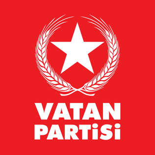 Patriotic Party (Turkey) Eurasianist political party in Turkey