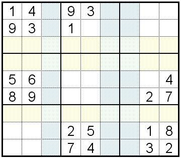 Znalezione obrazy dla zapytania sudoku