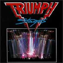 <i>Stages</i> (Triumph album) 1985 live album by Triumph