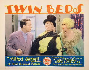 <i>Twin Beds</i> (1929 film) 1929 film by Alfred Santell