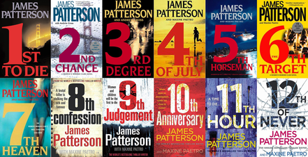 Image result for james patterson women's murder club