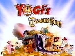 <i>Yogis Treasure Hunt</i> animated comedy television show