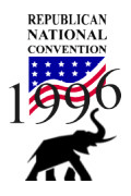 Logo of the 1996 Republican National Convention