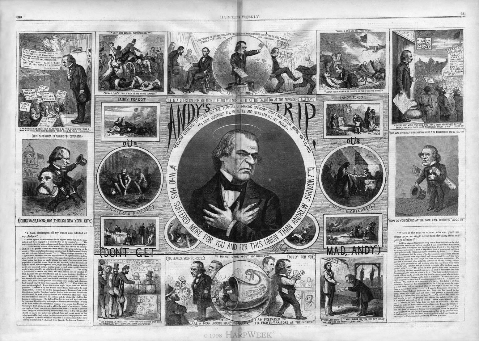 Andrew Johnson Speaking Tour