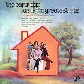 <i>At Home with Their Greatest Hits</i> 1972 greatest hits album by The Partridge Family