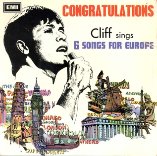 Congratulations (Cliff Richard song) 1968 single by Cliff Richard
