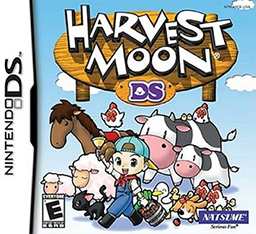Harvest moon ds coverart png