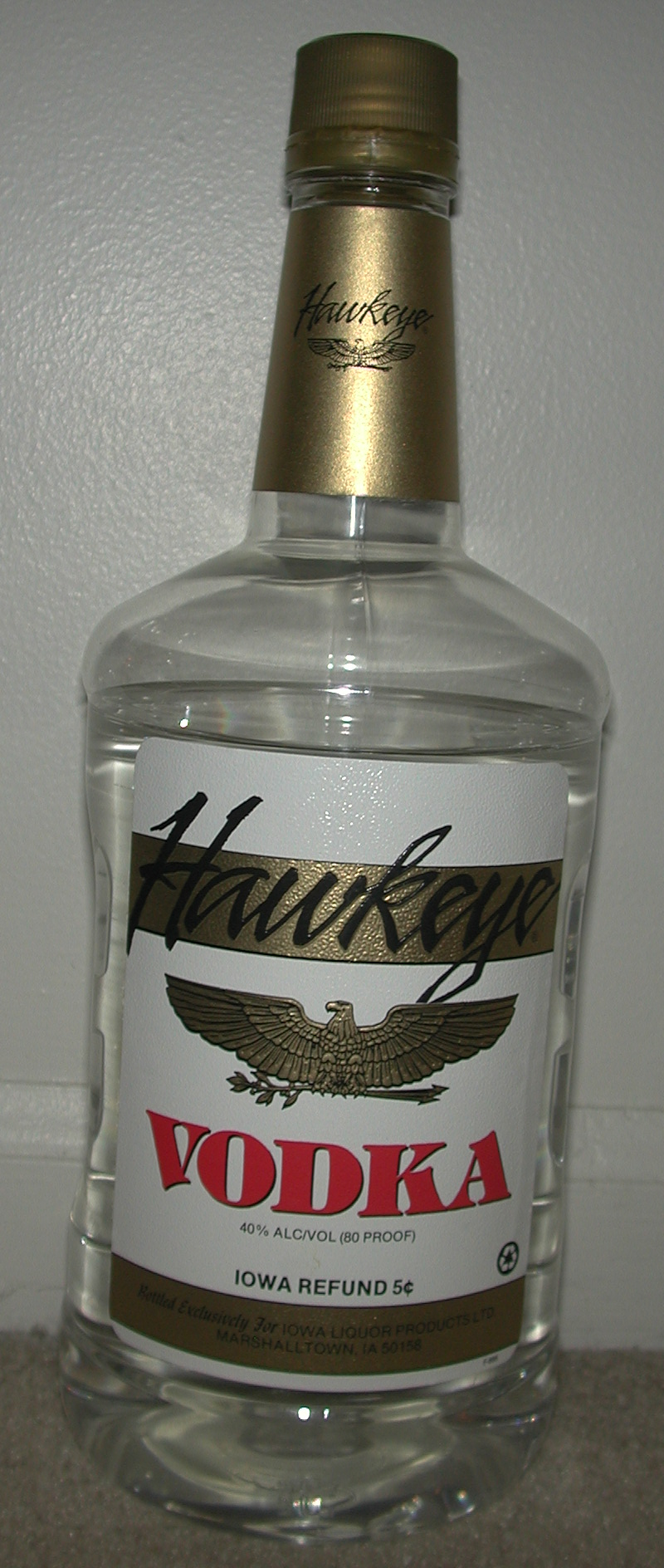Hawkeye spirits wikipedia - What to do with cheap vodka ...