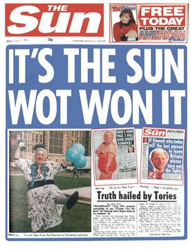 Its The Sun wot won it
