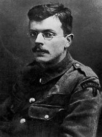 Ivor Gurney British composer and poet