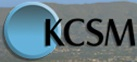 Former KPJK logo, as KCSM-TV.