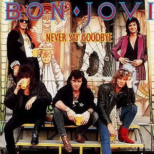 Never Say Goodbye (Bon Jovi song) 1987 single by Bon Jovi